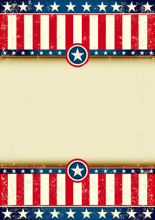 spangled: An american background witha large frame for your publicity