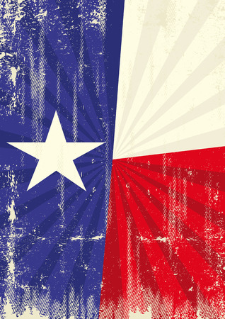 austin: A vintage texan poster with sunbeams and a a texture for your advertising