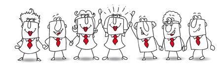 follower: Congratulation Karen, you are the leader in this teamwork