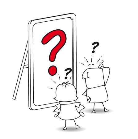 鏡の中のカップルに見えます。彼は、リフレクションでは誰も見ています。それは実存的な質問です。