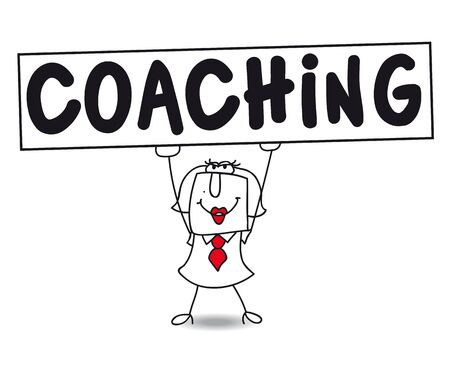 coaches: Karen is a coach, expert for the businessmen and their personal development