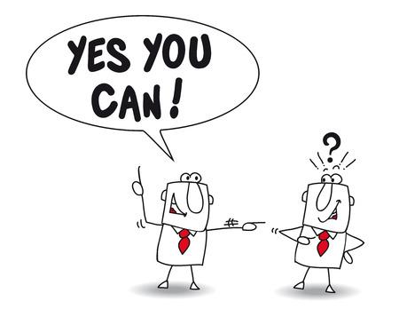 Joe tells Paul Yes you can. Paul is very surprised but Joe is his mentor