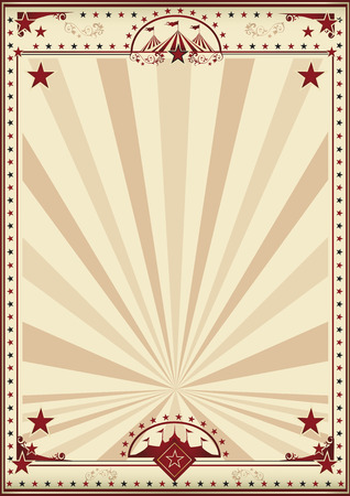 cabaret stage: A circus vintage poster for your advertising. Enjoy