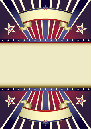 sunbeams: A retro background with multicolor sunbeams and a frame for your message Illustration