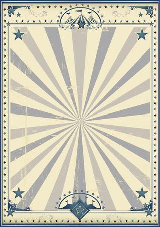 Ein Zirkus Vintage Poster für Ihre Werbung. Standard-Bild - 54230284