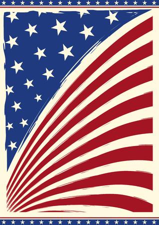 あなたのための背景にアメリカのグランジ フラグ