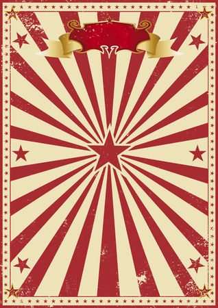 flag: A circus background for your entertainment