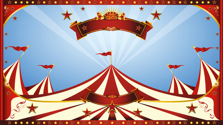 a circus background for a screen.