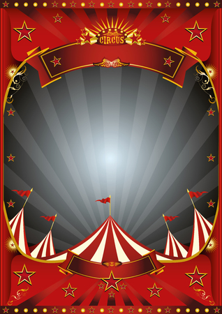 A circus vintage poster for your entertainment