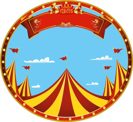 un autocollant sur le thème du cirque pour vous