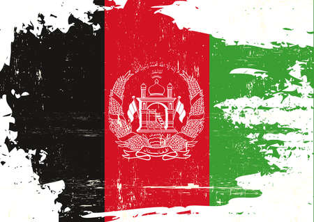 A grunge flag of afghanistan for you
