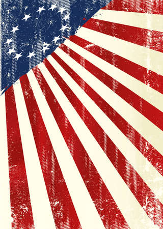 An american grunge background for you with a old Betsy Ross flag
