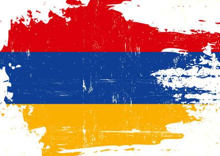 An armenian grunge flag for you