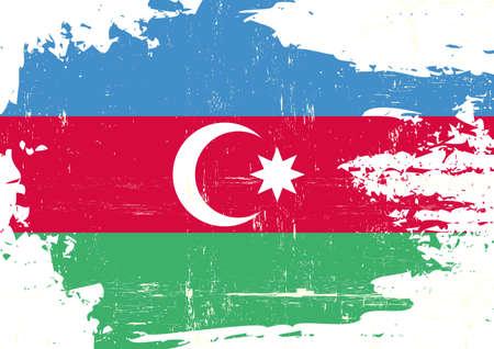 An azerbaijan grunge flag for you