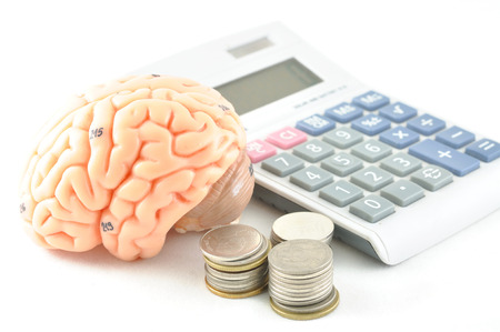brain and calculator photo