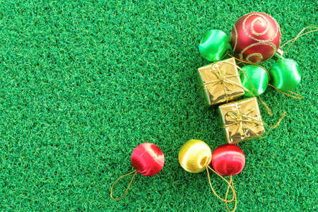 cerebrate: party concept on green grass background