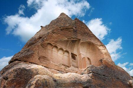 Cappadocia. Ruins of ancient church