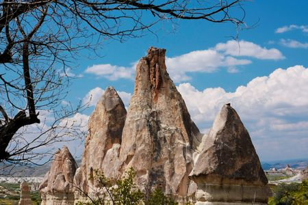 Cappadocia. Fantastic landscape photo