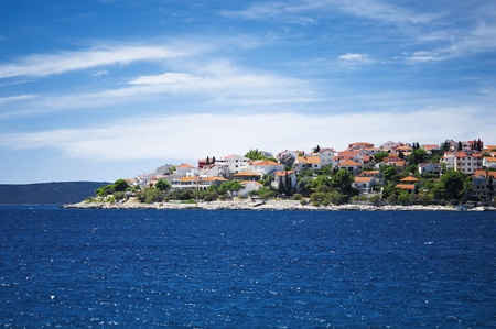 typical coastline of town trogir in croatia Stock Photo - 10699472