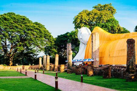 angthong: Buddha at Wat Khun Inthapramun in Angthong, Thailand.