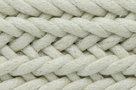 macro: Rope background - texture can use for background or cover.