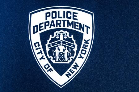 NYPD logo Editorial