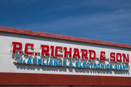 sone: The P.C.Richard and Sone store sign.
