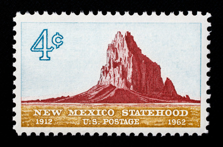 New Mexico Statehood US postage stamp.