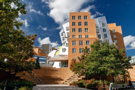 The Stata Center at the Massachusetts Institute of Technology (MIT) , a landmark аcademic complex designed by architect Frank Gehry. Editorial
