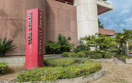 The Tom Adams Financial Centre in Bridgetown, Barbados. Imagens - 133574784