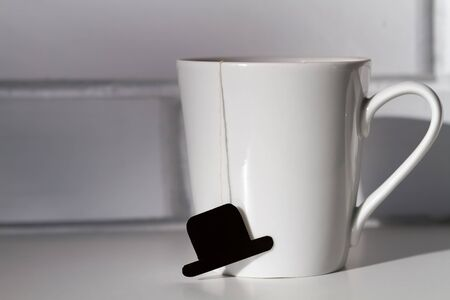 mans mug fathers day Stock Photo