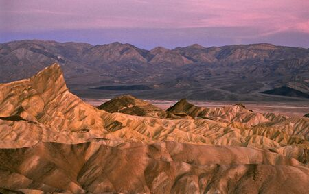 Sunrise at Zabriskie Point photo