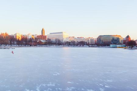 Morning in Helsinki, Finland