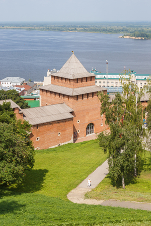 congress center: Ivanovo Kremlin Tower from the top terrace Stock Photo