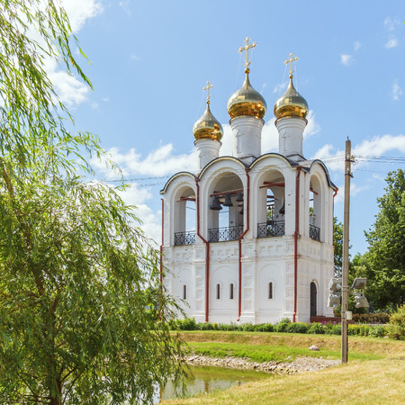 forerunner: Church of the Beheading of the Head of St. John the Forerunner in the St. Nicholas Convent in Pereslavl-Zalessky Stock Photo