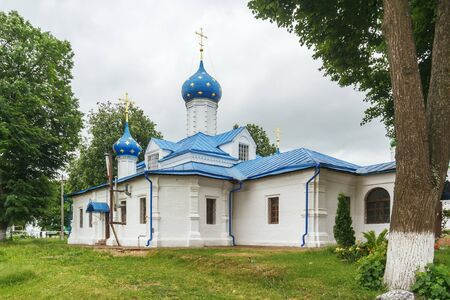 The Church of the Presentation into the Temple of the Blessed Virgin Mary in the Fedorovsky Womens Monastery in Pereslavl-Zalessky