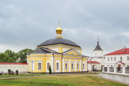 introductions: The refectory church of the Presentation of the Holy Trinity-Sergius Varnitsky Monastery in the Varnitsa village of the Yaroslavl Region