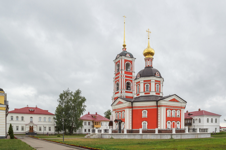 introductions: Trinity Church in the Trinity-Sergius Varnitsky Monastery in the village of Varnitsa, Yaroslavl Region Stock Photo