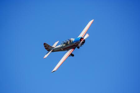 Airplane Yak -52 Stock Photo