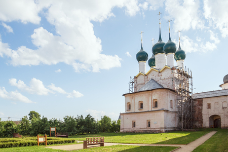 The Church of St. Gregory the Theologian in the Metropolitan Garden in the Rostov Kremlin