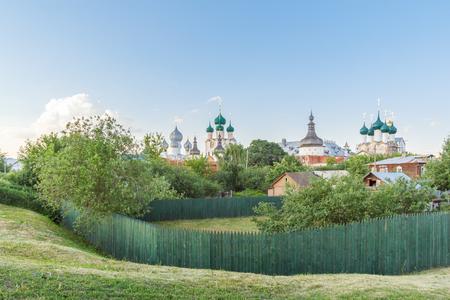 View of the Rostov Kremlin from the lake, Yaroslavl Region
