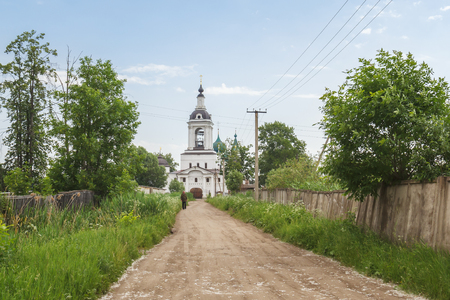 Entrance to the Avraamievsky Epiphany Monastery in Rostov Veliky, Yaroslavl Region