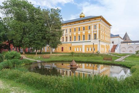 Metropolitan mansions in the Rostov Kremlin, Yaroslavl Region Редакционное