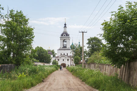 Church of St. Nicholas the Miracle-Worker in the Abraham Epiphany Monastery in Rostov Veliky, Yaroslavl Region