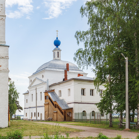 introductions: The Church of the Presentation of the Blessed Virgin in the Abraham Epiphany Monastery in Rostov Veliky, Yaroslavl Region