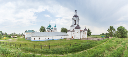 View of the Avraamiev Epiphany Monastery in Rostov Veliky, Yaroslavl Region