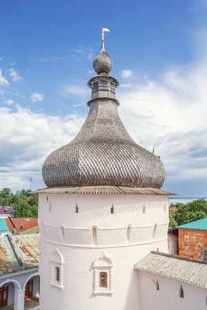 View of the Chapel Tower of the Rostov Kremlin from the belfry, Yaroslavl Region