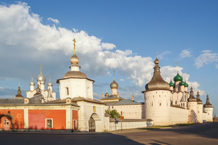 View of the Kremlin in Rostov the Great, Yaroslavl Region