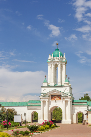 The Northern Gate in the Spaso-Yakovlevsky Dimitriy Monastery of Rostov the Great