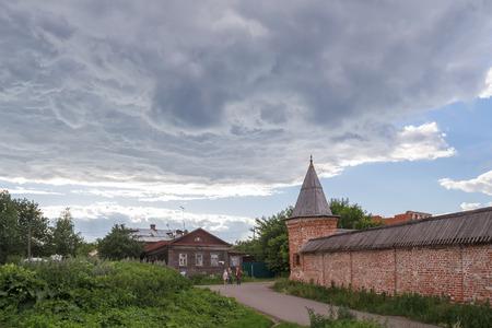 Fence of the Metropolitan Garden in the Rostov Kremlin, Yaroslavl Region
